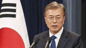 President of the Republic of Korea (RoK) Moon Jae-in