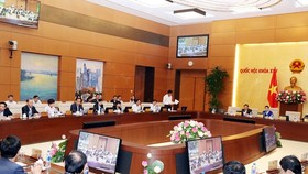 At the 31st session of the 14th National Assembly Standing Committee (Photo: VNA)
