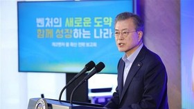President of the Republic of Korea (RoK) Moon Jae-in (Source: Yonhap/TTXVN)