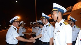 Naval ship HQ 012-Ly Thai To of Brigade 162 of the Naval Region 4 on March 20 left for Malaysia to attend the 2019 Langkawi International Maritime and Aerospace Exhibition (LIMA 2019) (Source: http://www.qdnd.vn)