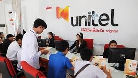 Unitel, an overseas investment of Viettel in Laos. (Photo: SGGP)