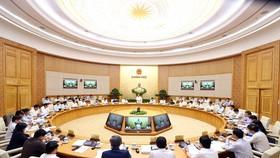 At the cabinet meeting (Photo: VNA)