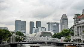 The skyline of Singapore (Photo: AFP/VNA)
