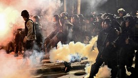 Indonesian police (Source: AFP)