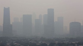 Jakarta is facing serious air pollution. (Source: thejakartapost.com)