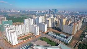 Thu Thiem new urban area, District 2, HCMC (Photo: SGGP)