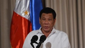 Philippine President Rodrigo Duterte (Photo: AFP/VNA)