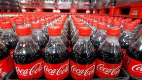 Plastic bottles of Coca-Cola (Source: VNA)