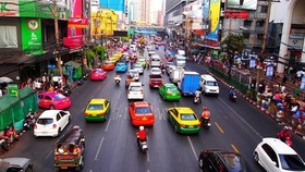A street in Bangkok capital city of Thailand (Photo: wordpress.com)