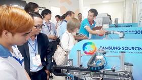 Nhiều doanh nghiệp Việt giới thiệu năng lực cung ứng sản phẩm phụ trợ cho các tập đoàn FDI