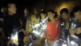 Video mới nhất về đội bóng nhí trên trang Facebook của Hải quân Thái