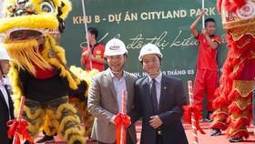 Tập đoàn Xây dựng Hòa Bình khởi công khu B dự án Cityland Park Hills