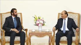 Thủ tướng Nguyễn Xuân Phúc tiếp ông Mohammed Ibrahim Al Shaibani