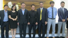 Lãnh đạo An Gia Investment cùng đại diện Quỹ đầu tư Creed group