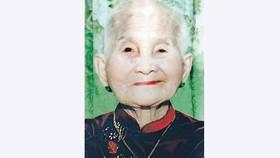 Mẹ Việt Nam Anh hùng Nguyễn Thị Thiếp từ trần