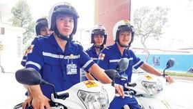 Đội xe cấp cứu 2 bánh Bệnh viện Đa khoa Sài Gòn lên đường cứu người