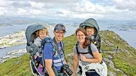 Một gia đình ở Na Uy
