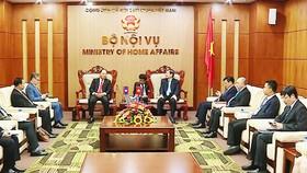 Việt Nam - Lào chia sẻ kinh nghiệm quản lý nhà nước về nội vụ