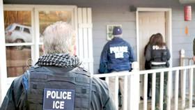 Một vụ truy quét người nhập cư trái phép ở Mỹ