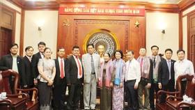 Tăng cường hợp tác giữa các đoàn thể TPHCM và Campuchia