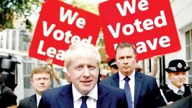 Tân Thủ tướng Anh Boris Johnson ủng hộ Brexit cứng