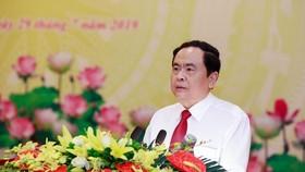 Chủ tịch UBMTTQ Việt Nam Trần Thanh Mẫn. Ảnh: UBMTTQVN