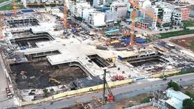 Dự án Laimain City xây dựng trái phép tại quận 2. Ảnh: THÀNH TRÍ