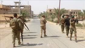 Các lực lượng Iraq trong chiến dịch truy quét IS tại tỉnh Anbar. Ảnh tư liệu: AFP/TTXVN