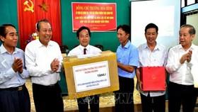 Phó thủ tướng Trương Hòa Bình thăm HTX Lâm nghiệp bền vững Hòa Lộc