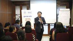 Một buổi tập huấn do VIAC tổ chức
