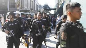 Cảnh sát Philippines. Ảnh: EPA/TTXVN