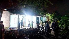 Thảm án ở Uông Bí, 2 bố con bị đâm chết tại nhà