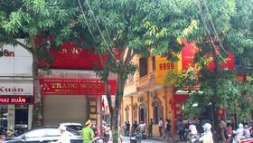 Tiệm vàng ở trung tâm TP Hà Tĩnh bị đột nhập trộm tài sản trong đêm