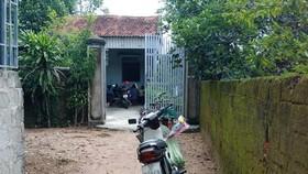 Gia đình cháu M. ở huyện Nghi Xuân, Hà Tĩnh