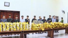 Tang vật ma túy đá và heroin bị bắt giữ