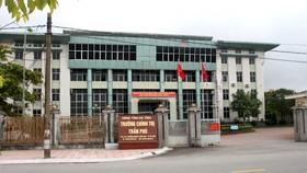 Trường Chính trị Trần Phú, tỉnh Hà Tĩnh