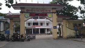 Bệnh viện Đa khoa huyện Đức Thọ, tỉnh Hà Tĩnh, nơi xảy ra sự việc