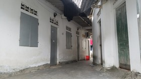Khu vực phòng trọ nơi xảy ra vụ việc