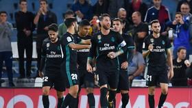 Real đã có chiến thắng quan trọng trước Sociedad. Ảnh: Getty Images