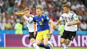 Thụy Điển rất giỏi trong những tình huống phản công tốt độ. Ảnh FIFA.