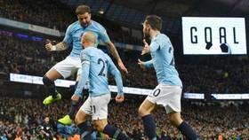 Man.City tiếp tục điệp khúc chiến thắng theo cách thuyết phục nhất. Ảnh: Getty Images