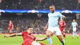 Raheem Sterling tin sẽ cùng Man.City vượt qua đội bóng cũ Liverpool. Ảnh: Getty Images
