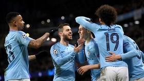 Man.City khẳng định vị thế ứng viên sau chiến thắng kỷ lục. Ảnh: Getty Images