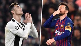Cristiano Ronaldo và Lionel Messi đã khác nhau về giải đấu. Ảnh: Goal.com