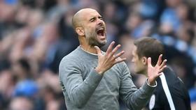 HLV Pep Guardiola mùa này một lần nữa phải chia tay Champions League trong cay đắng. Ảnh: Getty Images