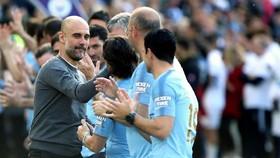 Pep Guardiola khẳng định thành công của Man.City cần được tôn trọng. Ảnh: Getty Images