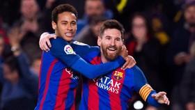 Lionel Messi thật sự muốn tái hợp với Neymar. Ảnh: Getty Images