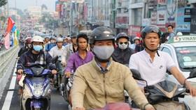 Việc khởi công cầu vượt đường Phạm Ngũ Lão - Nguyễn Oanh thuộc dự án xây dựng nút giao thông Ngã 6 Gò Vấp sẽ giúp cải thiện tình hình giao thông khu vực. Ảnh: VGP