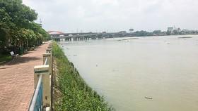 Công trình chống sạt lở kênh Thanh Đa vừa hoàn thành  và đưa vào sử dụng