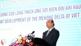 Thủ tướng phát biểu khai mạc Hội nghị.Ảnh VGP